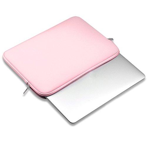 Manga Del Ordenador Portátil Bolsa De Transporte Bolsa De 13 Pulgadas macbook Air Mac / Pro / Retina - Rosa