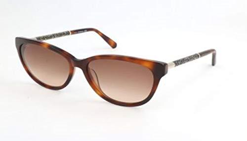Swarovski sunglasses sk0131 53f-58-15-140 occhiali da sole, marrone (braun), 58 donna