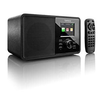 Lenco CR-2004 Digitalradio / DAB+ 2,4 Zoll Farbdisplay mit