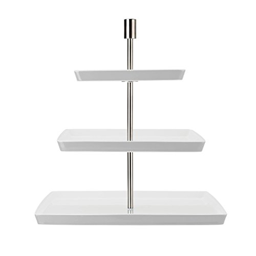 Thomas' Loft - Etagere quadr.3-tlg, Weiß