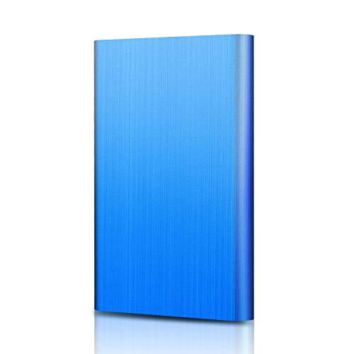 YOOSUN Externe Festplatte 2tb USB 3.0 Externe Festplatte für Mac,PC,PS4,Xbox (2tb, Blau) (Externe Usb Festplatte Mac)