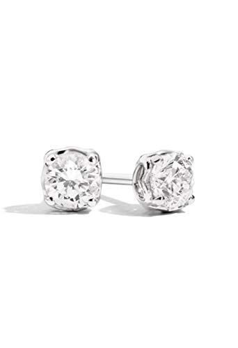 Orecchini Recarlo Punto Luce Modello Anniversary Diamanti Naturali Oro 18kt Donna E01PX730