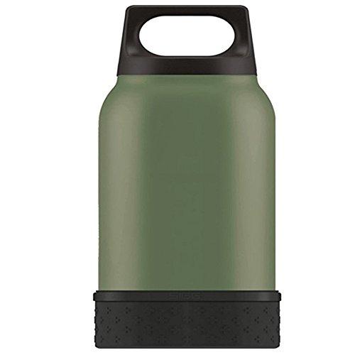 SIGG Thermobehälter Food Jar Green Leaf w. Bowl