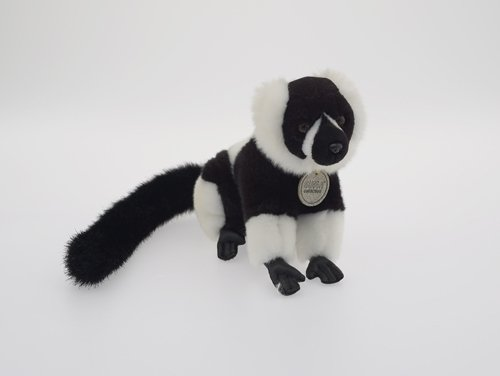 Suma Collection Plush Soft Toy Ruffed Lemur. 16cm. [Toy]