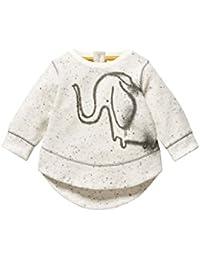 next Bebé Niño Jersey Suéter Pulóver Polar Estampado De Elefante De Mezcla De Algodón (0 Meses-2 Años)