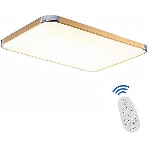 SAILUN 48W Regulable LED Lámpara Moderna Del Techo Lámpara De Techo Pasillo Salón Cocina Dormitorio De La Lámpara Ahorro De Energía De Luz De