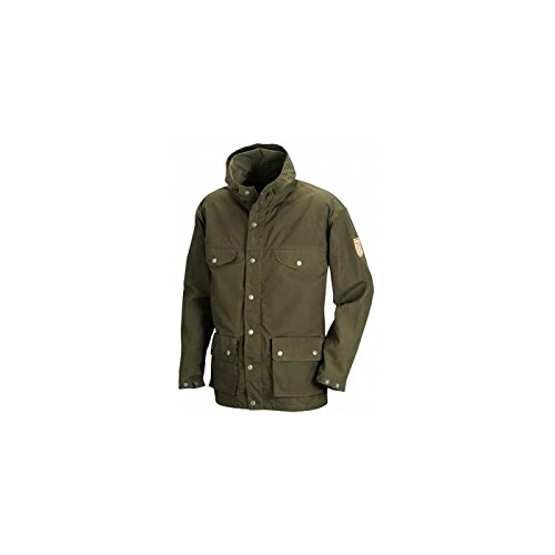 Fjällräven Greenland Jacket Herren Jacke Dark Olive-Mountain Grey