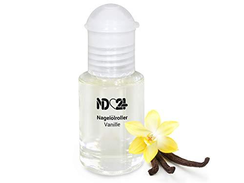 Nagelölroller Vanille-Schote - 6ml - als praktischer Roller - Nagelhaut-Öl Nagelpflege-Öl Nagelhautpflege-Öl