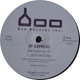 SF-EXPRESS / NEW BEGINNINGS EP
