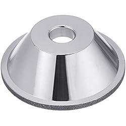 SenQing 80-600 Grain Diamant meule Coupe Tasse de meulage en Forme de Bol for tungstène Acier Fraise Outil de Coupe affûteuse meuleuse Haute Qualité Abrasif (Taille : 100#)
