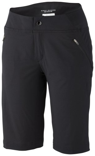 Columbia Stretch Shorts (Columbia Damen Hose Back Up Passo Alto Shorts, Black, 6, AL4371-010-6-L12)