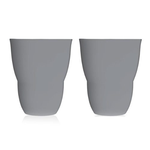 Vipp 203 tasse à thé lot de 2 gris