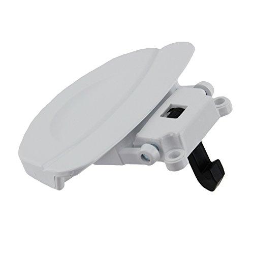 Spares2go - Manilla de puerta de plástico para lavadoras Fagor (blanco)
