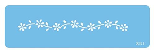 PME SB4 Jem Gänseblümchen-Schablone, Kunststoff, Blue, cm, 15 x 1 x 15 cm, 1 Einheiten