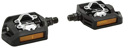 SHIMANO Click`R PD-T421 Pedal Trekking, Schwarz, One Size -