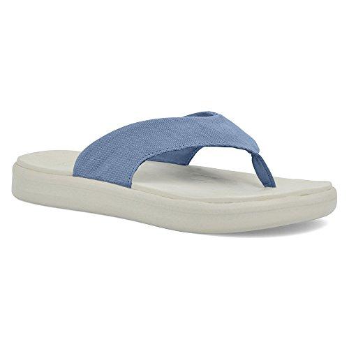 Soft Science Damen Skiff Flip Flop Leinwand uc0028lbl Schuhe ,  US 4 - 6/ EU 36 - 37 - Soft-flipflops