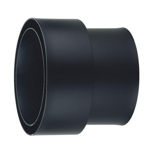 Doppelwandige Rauchrohr (Möck Anschlussstück für doppelwandige Rauchrohre, System Primus, 150 mm Schwarz)