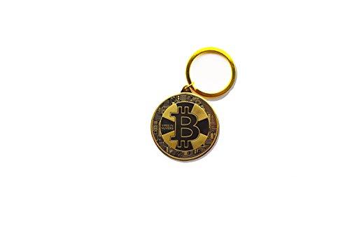 Original Bitcoin Schlüsselanhänger (gold) (Schlüsselanhänger Für Einen Dollar)