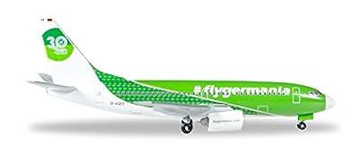 Herpa 529518 - Germania Flugzeug Boeing 737-700 30 Years von Herpa Miniaturmodelle