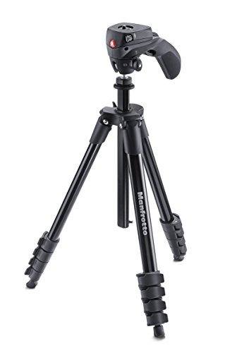 Manfrotto MKCOMPACTACN-BK treppiede