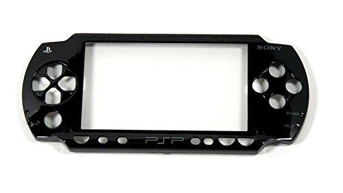 Vorne Oben Frontplatte, Schutzhülle Shell für PSP 1000PSP 1001Ersatz, schwarz