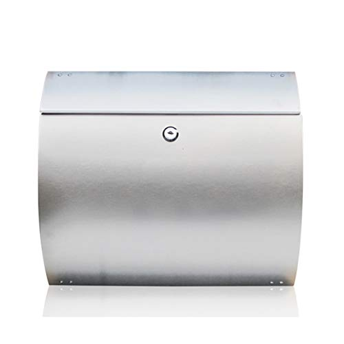 Preisvergleich Produktbild ZHPBHD Briefkasten Landhaus-Briefkasten des europäischen Landbriefkasten des Edelstahlbriefkastens hängender Briefkastenregenbriefkasten Mailbox