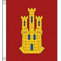 BANDERA de CASTILLA-LA MANCHA 150x90cm - BANDERA CASTELLANO-MANCHEGA 90 x 150 cm - AZ FLAG
