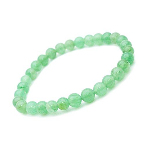 Jade Armband, Stein, semi-Edelstein-Perlen, 6 mm Stein der Perfektion