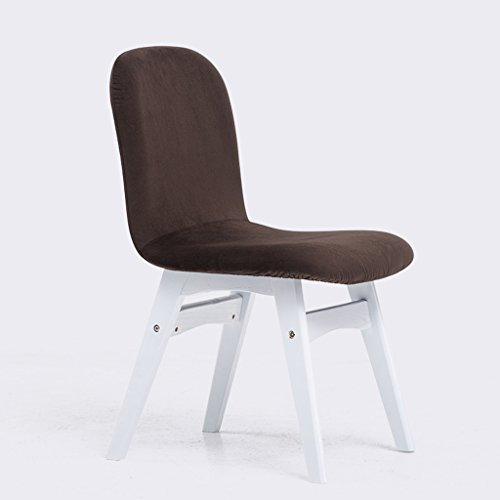 Wanli shopping mall sedia da pranzo sedia da pranzo per il tempo libero sedia moderna sedia da pranzo in legno massello sedia da pranzo (colore : d)
