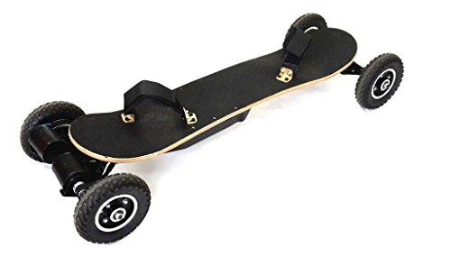 FM Longboard CROSS | elektrisch, Skateboard mit E-Motor und 2x 1450 Watt Leistung! LG Akku mit CE ! Elektrisches Skateboard für Gelände, Longboard mit Motor Lg Motor X