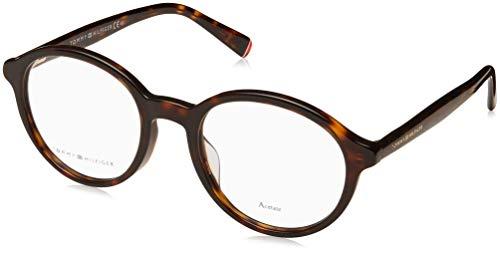 Tommy Hilfiger Brille (TH-1587-G 086) Acetate Kunststoff dunkel havana