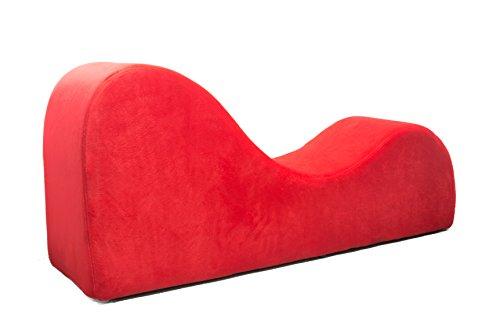 Love Sofa Canapé de style Liberator Esse en microfibres rouge