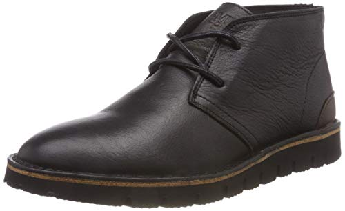Marc O'Polo Herren Chukka Boots, Schwarz (Black 990), 45 EU -