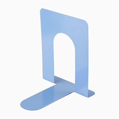 Creative Métal livre Bleu Clip 17,8 cm livre de stockage support pour Home Office Desk mignon