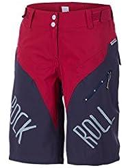 Maloja Radhose Freeride Shorts GreshamM. blau - pink Stretch winddicht