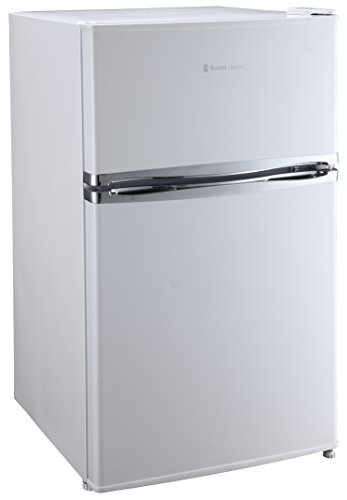 Russell Hobbs RHUCFF50W White 50cm Wide Under Counter Freestanding Fridge Freezer, Free 2 Year Guarantee