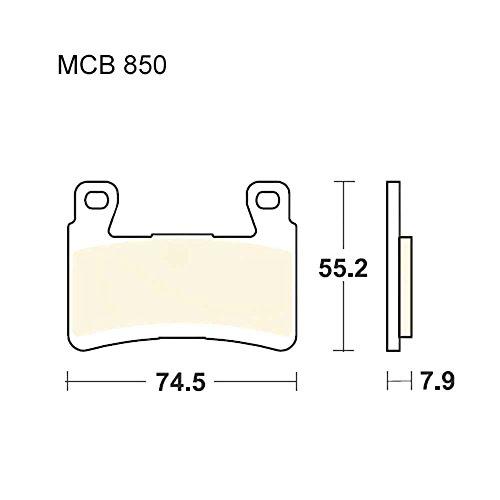 TRW Lucas Bremsklötze Srq Honda GL 1800 F6C uvm. Carbon MCB850SRQ 3322938148713