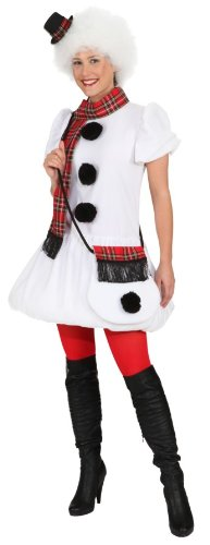 Schneemann Kostüm Damen - Orlob Damen Kostüm Schneemann verkleiden zu