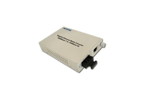 Dexlan Konverter Faser Singlemodefasern Gigabit SC RJ451000SX 10KMS