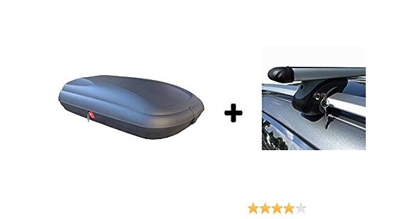 Vdp Dachbox Ba320 Relingträger Alu Kompatibel Mit Suzuki Jimny Fj Ab 98 Abschliessbar Auto