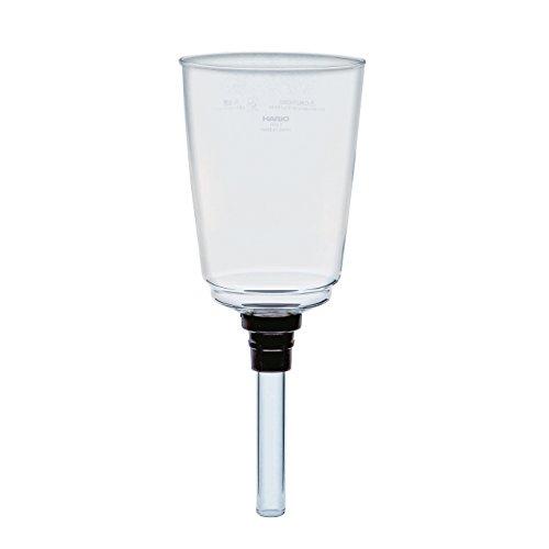 Syphon Cup (Hario VD Glas oberen Schale für Kaffee Siphon, transparent, durchsichtig, 5 Cup)