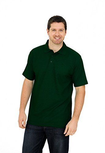 Uneek clothing-Mens-Olympic poloshirt-175 gsm Polo - Verde - c71d39d010077