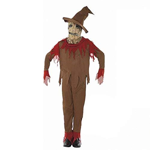 MTSBW Halloween Scarecrow Kostüm Set Erwachsene Bühne Ball Party (Scarecrow Kostüm Für Erwachsene)