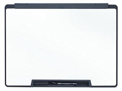 Motion Portable Dry Erase Board, 24 x 18, White, Black Frame