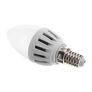 FDH 3W E14 Luces de velas LED 12 SMD2835 300 lm blanco cálido 5 pcs 220-240 V CA