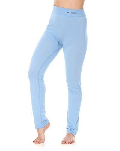 BRUBECK® LE11780 Damen-Pyjama (Hose) | Schlafanzug | MicroModal Air | Klimaregulierender Komfort | Einzigartige Weichheit Light Blue
