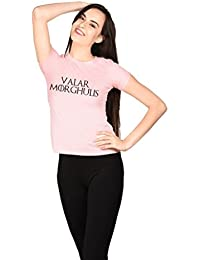 Valar Morghulis Blue Girls T-shirt
