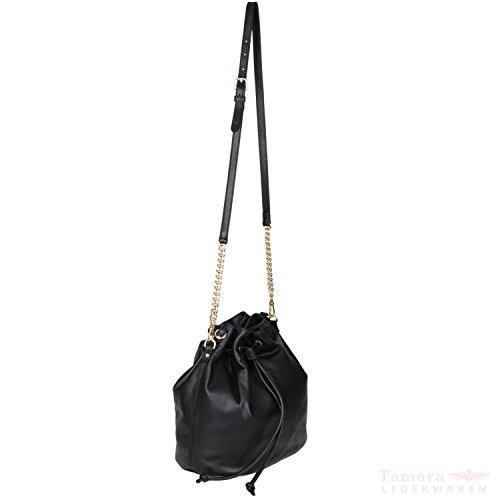 Braveheart abro 026250-75 cuir sac à main femme 29 x 29 x 19 cm Gris - Noir