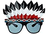 Red Indian Party Eyeglasses