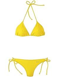 Beco Mujer Triángulo Bikini de Basics Amarillo amarillo Talla:38 [DE 36]